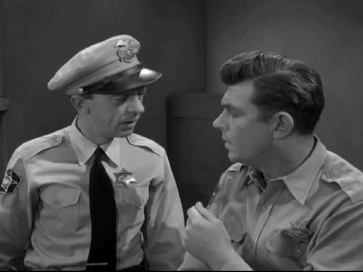 Andy Griffith, Don Knotts, cousins?, The Andy Griffith Show