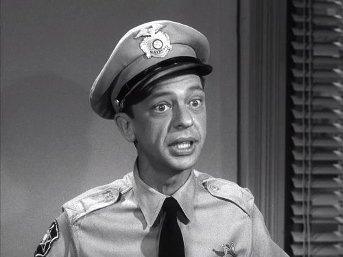 Barney Fife, Don Knotts, middle name