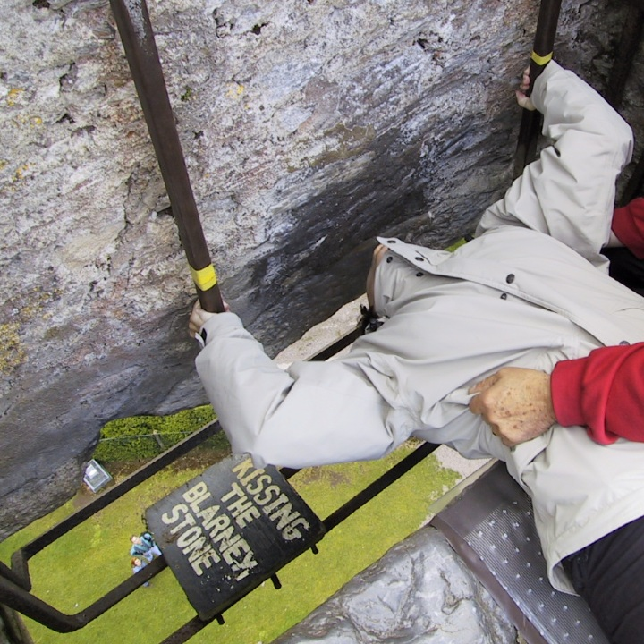 Kissing the blarney stone, tourism, destinations