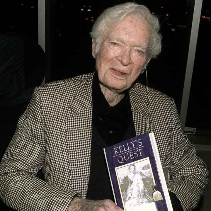 """Actor Buddy Ebsen, author of """"Kelly's Quest"""" attends a book signing at The Bookstar March 9, 2001 in Los Angeles, CA."""