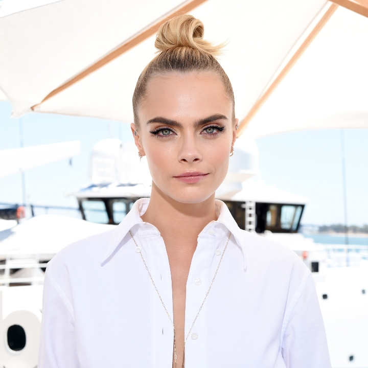 Cara Delevingne at Comic Con
