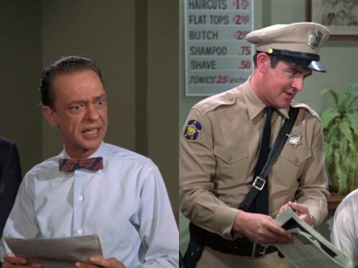Don Knotts, Jack Burns, Mayberry Deputies