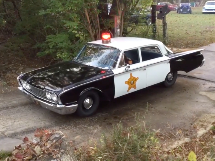 Andy Griffith Show, Ford Galaxie, squad car