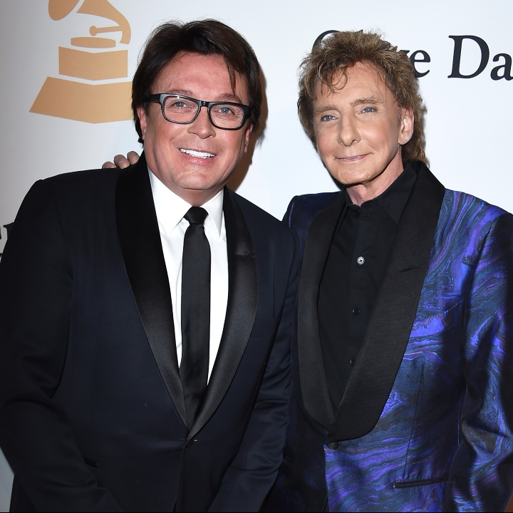 Garry Kief and Barry Manilow