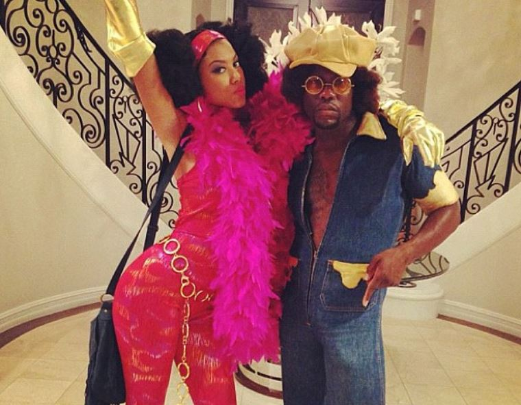 Kevin-Hart-Eniko-Parrish-celebrity-famous-people-Halloween-costumes