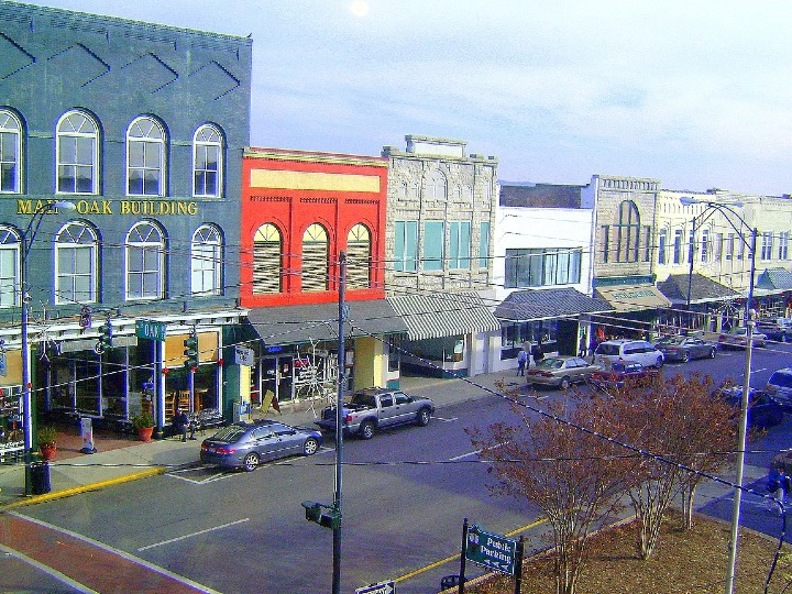 Mount Airy, historic town, North Carolina