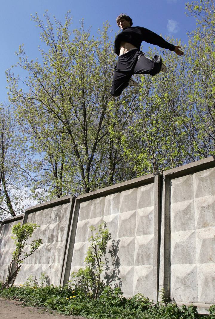 Russian parkour Moscow