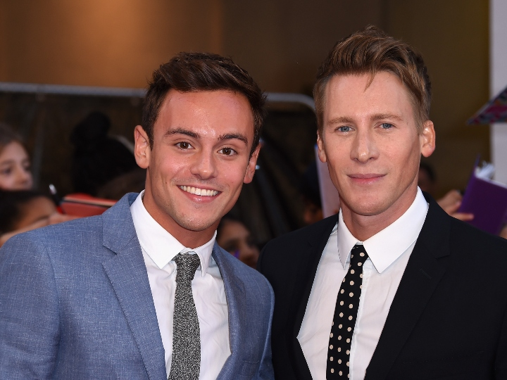 Tom Daley and Dustin Lance Black