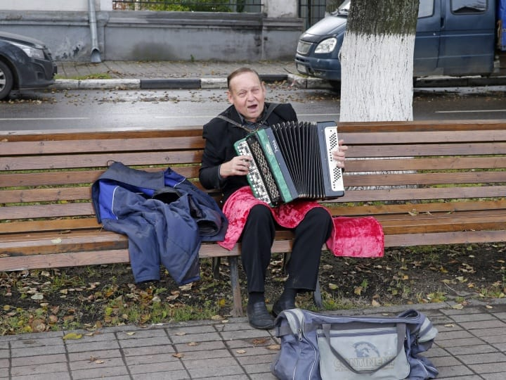 Moscow Russia musician