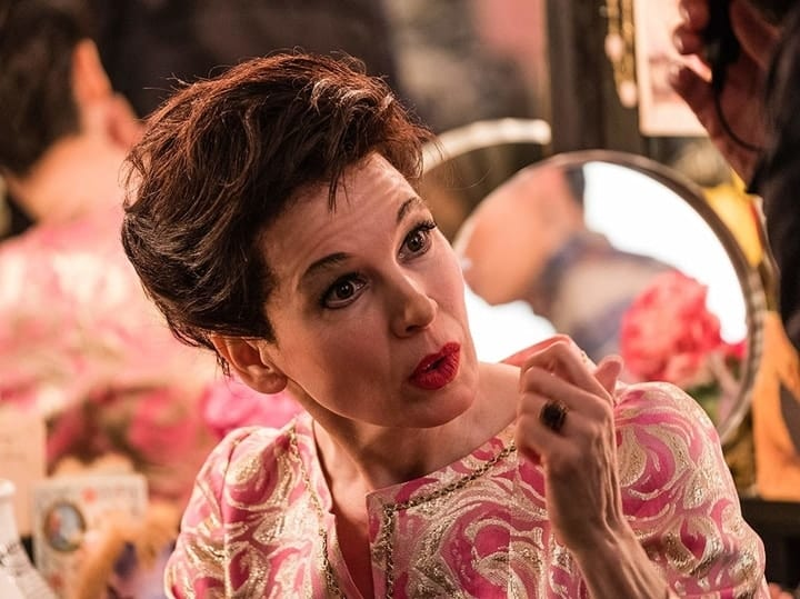 Renee Zellwegger as Judy Garland
