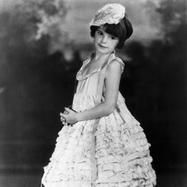 Judy Garland as a young girl