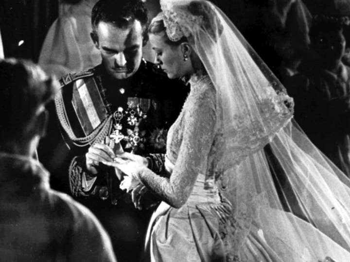 Grace Kelly marrying royal