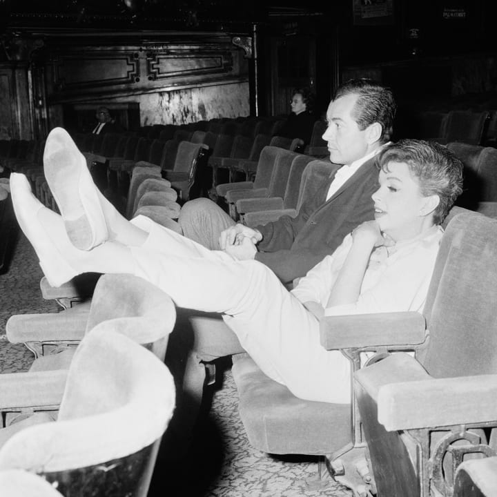 Judy Garland at the theater