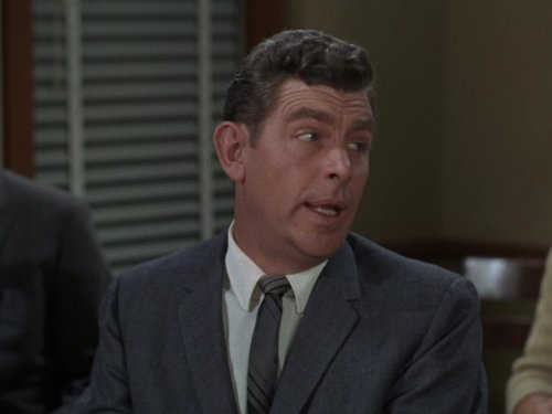 angry Andy, Andy Griffith, Andy Taylor