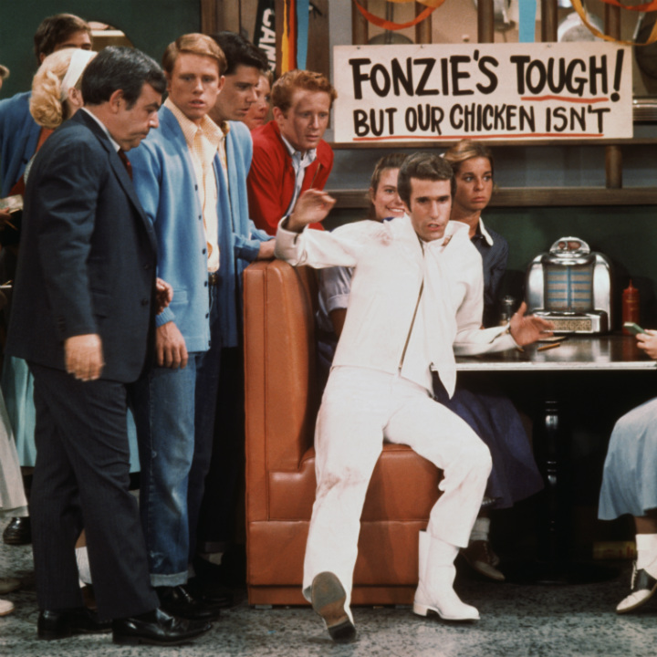 fonzie at arnold's