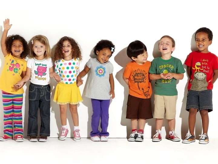 foster kids, standing together, kids in need