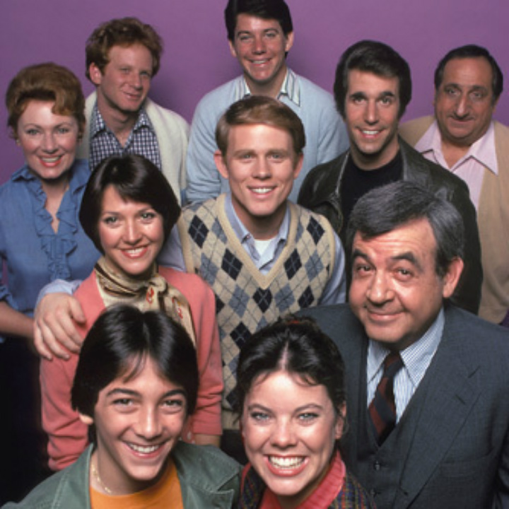 happy days later cast