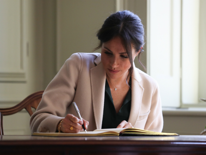 meghan-markle-writing