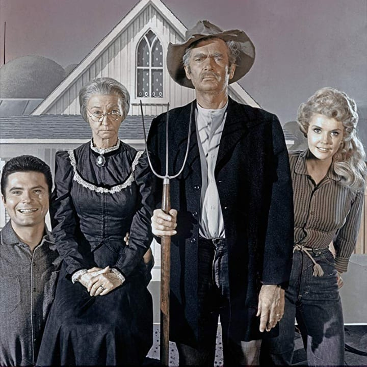 mock up, Beverly Hillbillies, picture, group