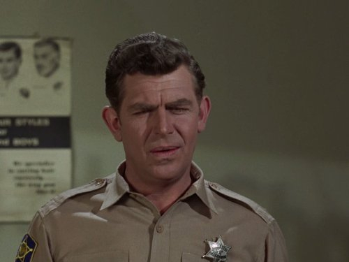 Andy Griffith puzzled, confused, what?