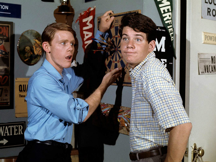 ron howard and anson williams in Happy Days