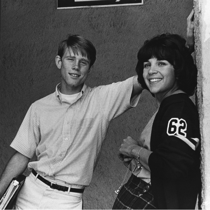 ron howard and cindy williams in american graffiti