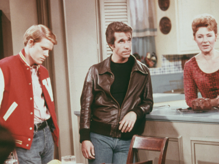 ron howard henry winkler and marion ross