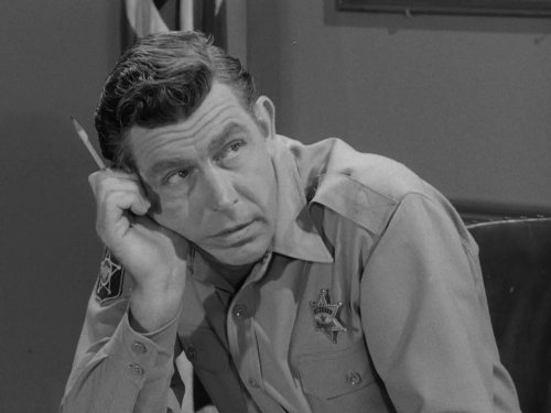 sad Andy, bad performance, Andy Griffith