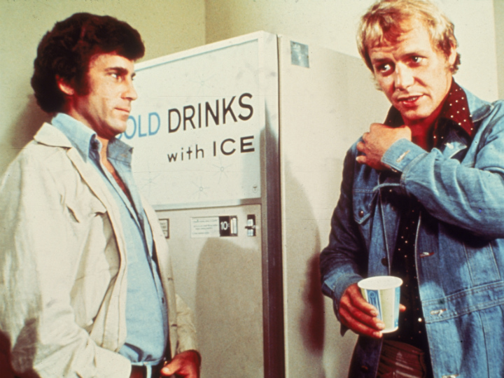Starsky and Hutch at the water cooler