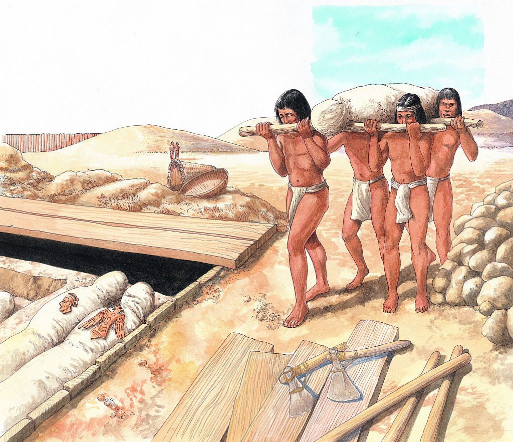 Cahokia mound builders