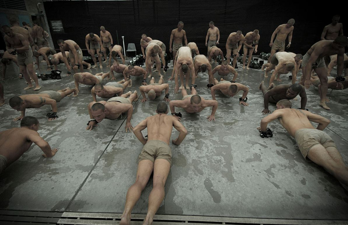 Navy-SEALs-BUD/S-buds-training-constant-cold-push-ups