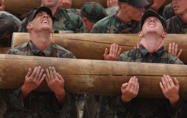Navy-SEALs-BUD/S-buds-training-log-drills