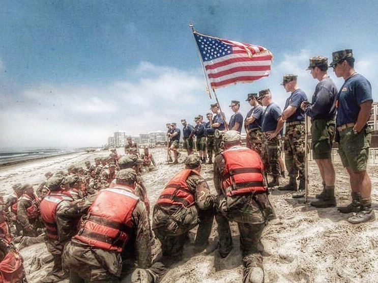 Navy-SEALs-BUD/S-buds-training-United-States-of-America-flag