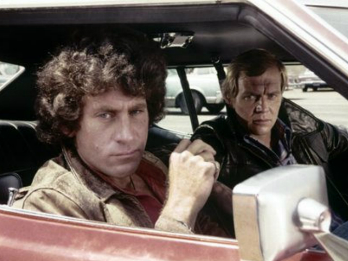Starsky and Hutch in car