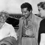Lana Turner, Johnny Stompanato, and Cheryl Crane