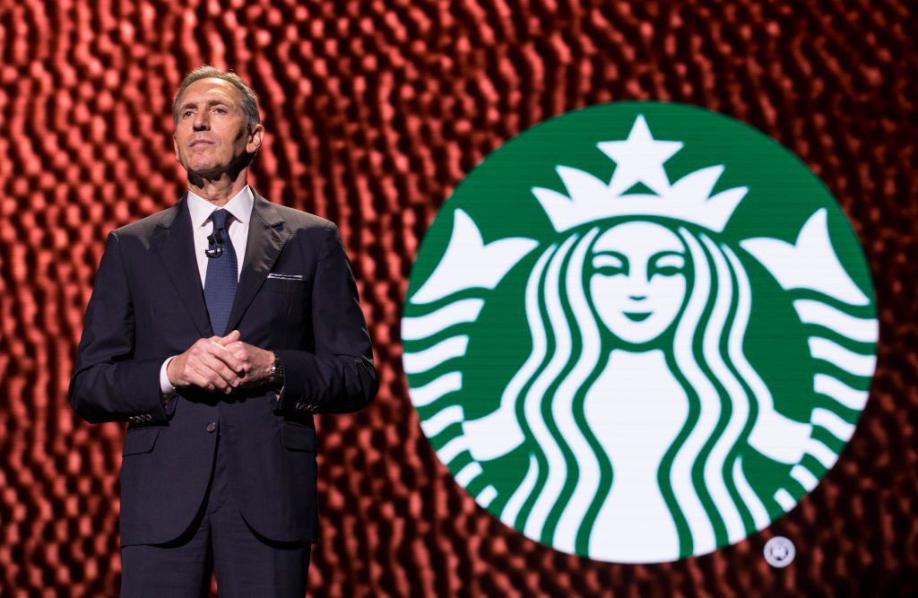 Howard Schultz, CEO of Starbucks