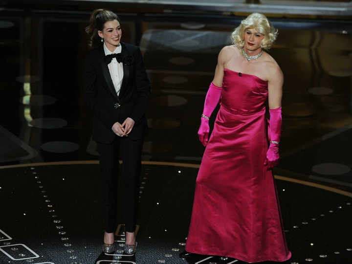 Embarrassing awards show moments