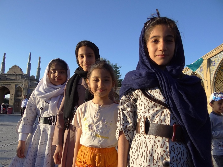 kids in Iran, young girls, young country