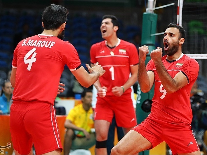volleyball, Olympics, competition, Iran