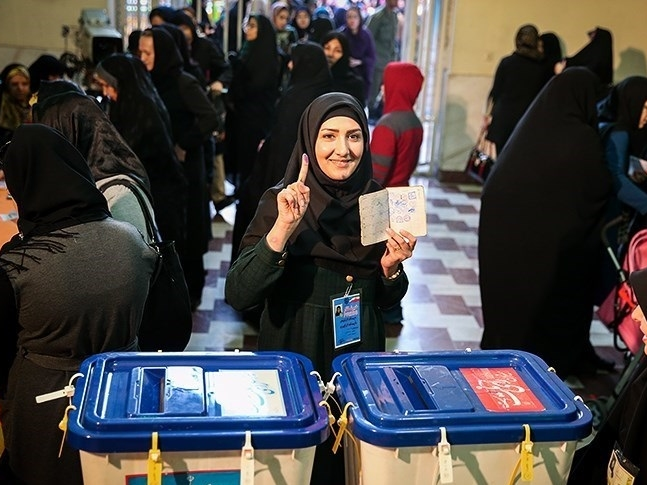 voting, Iran general election, voter turnout