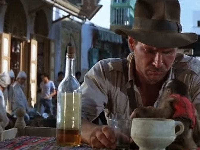 Raiders of the Lost Ark mistakes