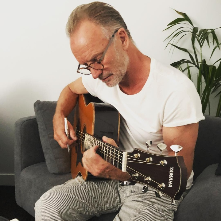 Sting, The Police, songwriter, Every Breath You Take