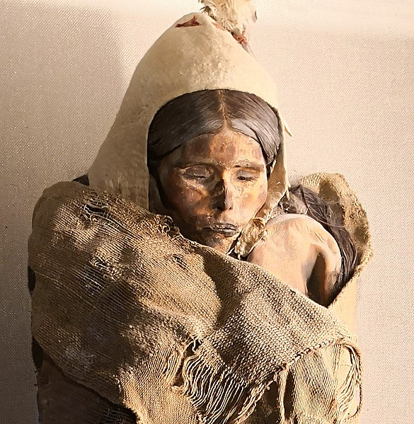 Beauty of Loulan Mummy