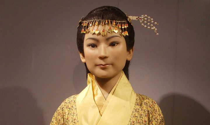 Lady Dai Wax Figure